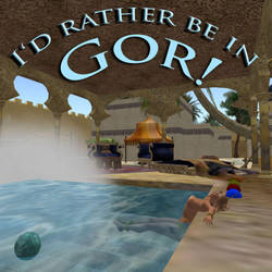 I'd Rather Be In Gor by patpowers