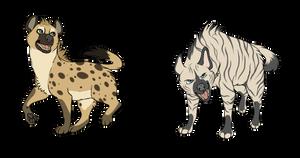 Hyenas~ by senpai-tuba