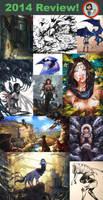 2014 Art Summary by anireal