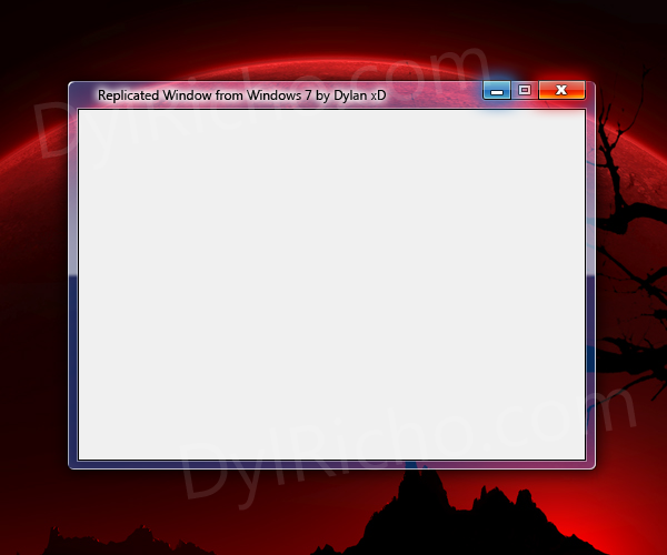 Windows 7 Replication by dylricho