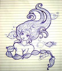 Underwater Dreaming by LadiehBinkieh