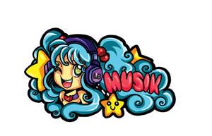 Music Sticker by LadiehBinkieh