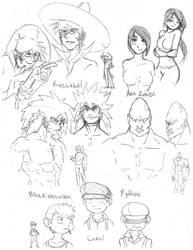 KK - bad guys by Kafeii