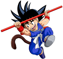Dragon Ball - kid Goku 12 updated by superjmanplay2