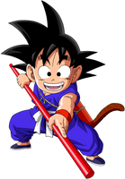 Dragon Ball - kid Goku 22 by superjmanplay2
