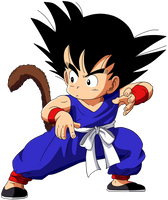Dragon Ball - kid Goku 28 by superjmanplay2