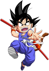 Dragon Ball - kid Goku 30 by superjmanplay2