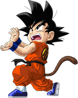 Dragon Ball - Kid Goku 34 by superjmanplay2