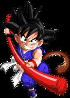 Dragon Ball - Kid Goku 38 by superjmanplay2