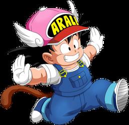Dragon Ball - Kid Goku 40 by superjmanplay2