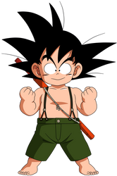 Dragon Ball - Kid Goku 45 by superjmanplay2