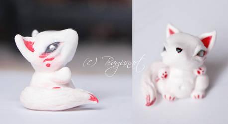Fox Figurine 1 by Bayuna