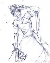 FFXV: Prompto Wedding Dress by Bayuna