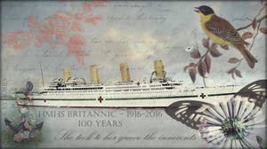 HMHS Britannic: A Century of Loss -- WALLPAPER by RMS-OLYMPIC