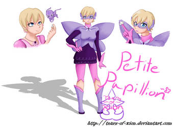 Petite Papillion - Butterfly!Rose by Tears-of-Xion