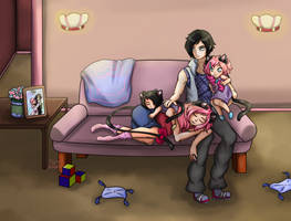 Commission: Warmth of Family by Tears-of-Xion