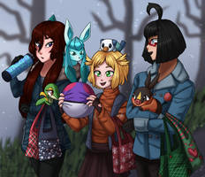 Christmas Shopping is Best Done with Friends by Tears-of-Xion
