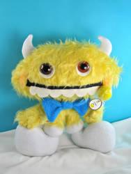 Lemonhead Candy Monster by boomplush