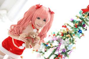 Kuroko Shirai in Christmas by nozomiwang