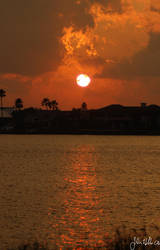 Sunset On The Indian River by ringtaillemur