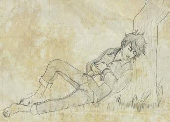 Bast sleeping by kuro-art