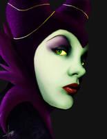 Maleficent by eddidit