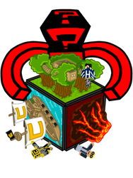 RageGaming: Quick Build Cube T-shirt design by Lord-Varian