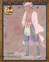Pokimono NPC: Ayumu by DingDingy