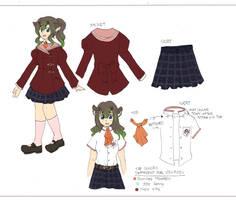 PKM: School Uniform Contest 1 by DingDingy