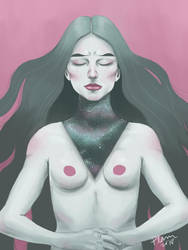 Meditation by Plamondon