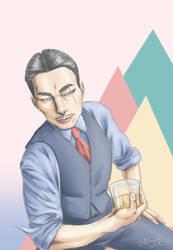 Japanese Gangster by Plamondon