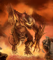 Fire Colossus by ResidenteCorva