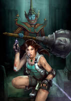 Lara Croft by ResidenteCorva