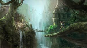 Tomb Raider 3: level 2: Temple Ruins by Mondiro00