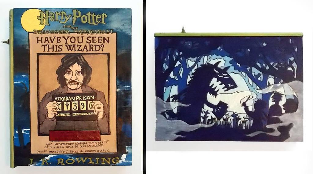 Harry Potter:Prisoner of Azkaban hideaway book box by RFabiano