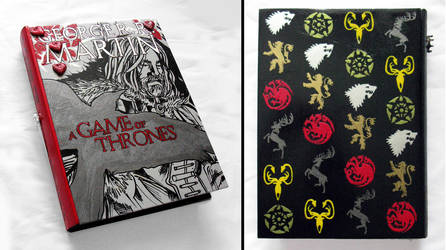 Game of Thrones, the Heart Tree -hideaway book box by RFabiano