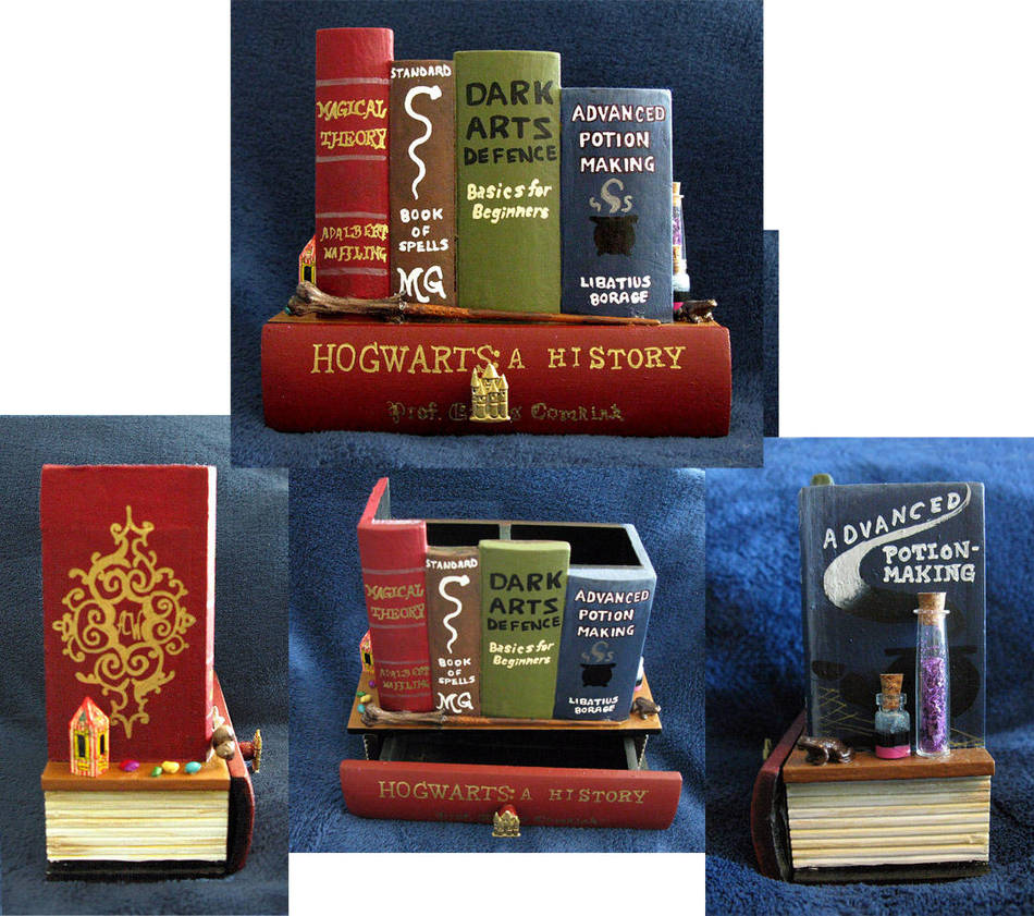 Hogwarts Student secret book shelf by RFabiano