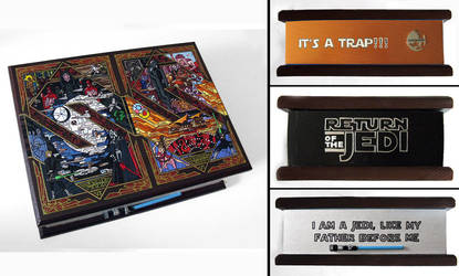 Return of the Jedi- hand painted box by RFabiano