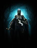 Steampunk Dark Assassin by ArrtMan