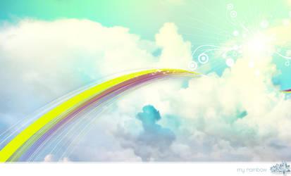 My Rainbow by apothix