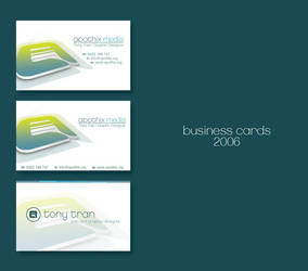 Business Card - 2006 by apothix