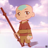 Aang by blokface
