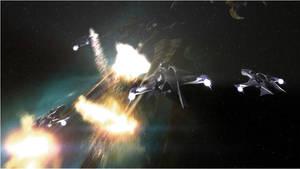 Babylon 5 - Whitestar Attack by Paradox3D