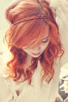 red haired girl by YOURsSMILEY