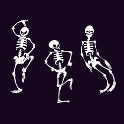 Spooky Scary Skeletons By Jamtoon On Deviantart