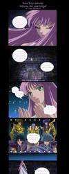 SSparody- Athena, the yaoi fan by Miss-Jose