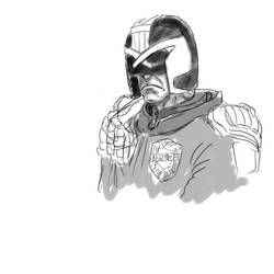 Judge Dredd by TantzAerine