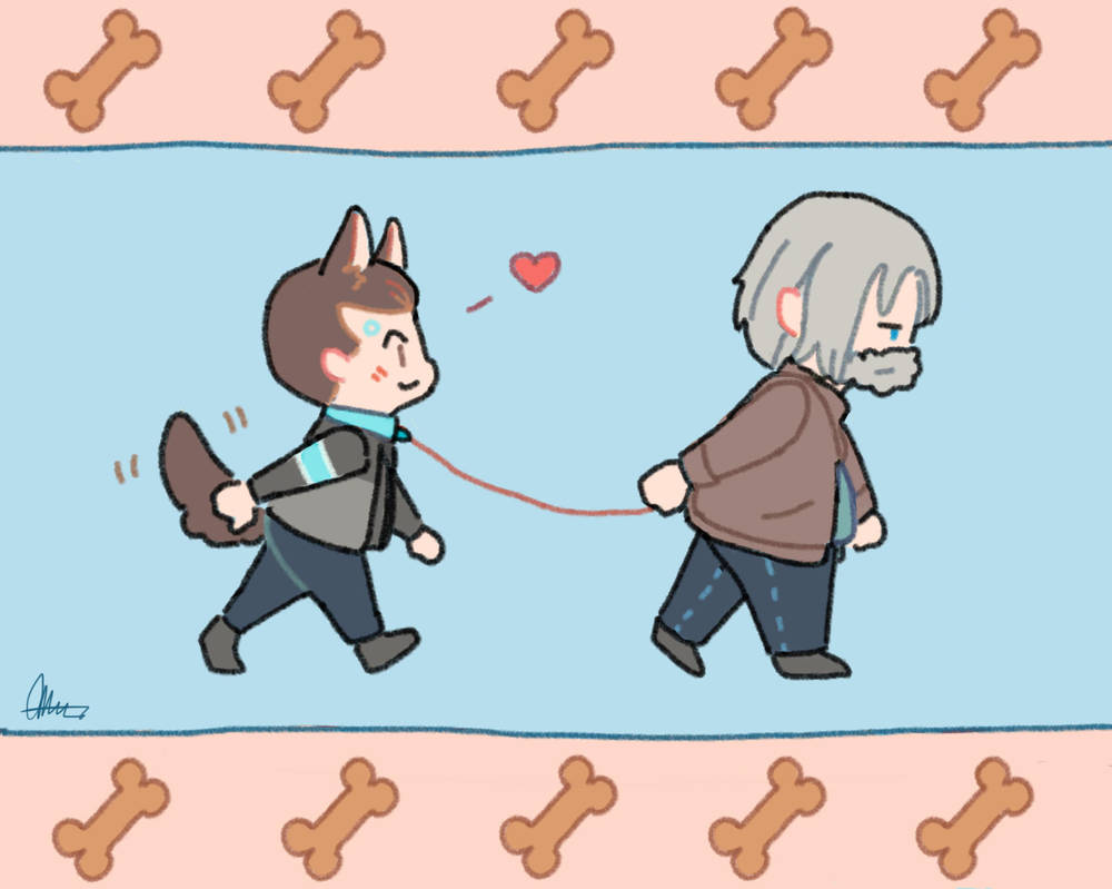 Connor And Hank by the-staingirl