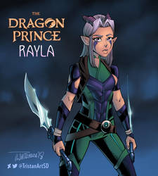 The Dragon Prince - Rayla by TristanArtSD