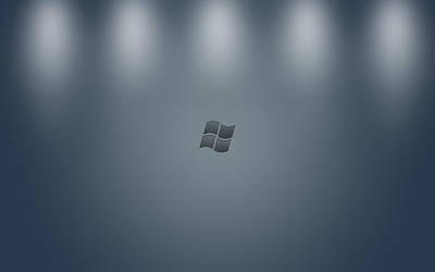 Minimalist Windows Wallpaper by FavsCo
